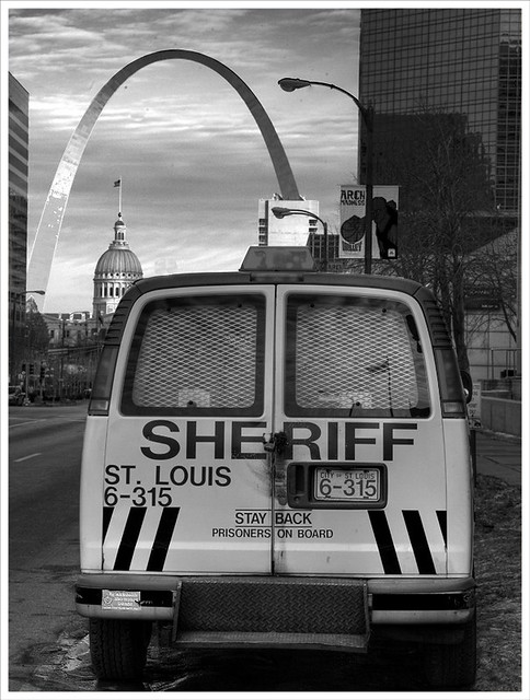 Sheriff's Van