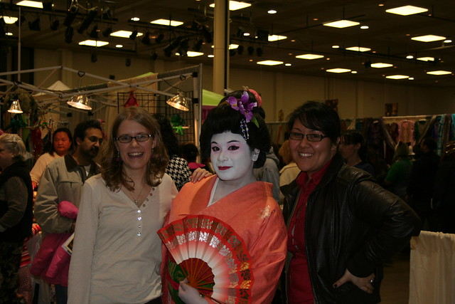 Me, Tammy, and Jasmine at the APCC New Year Celebration. A great day with some wonderful and talented friends.