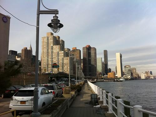 East River Walk near E. 29th