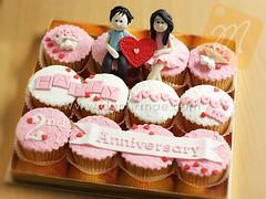 Valentine Cupcake Set