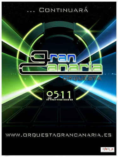 Gran Canaria 2011 - orquesta - cartel adianto
