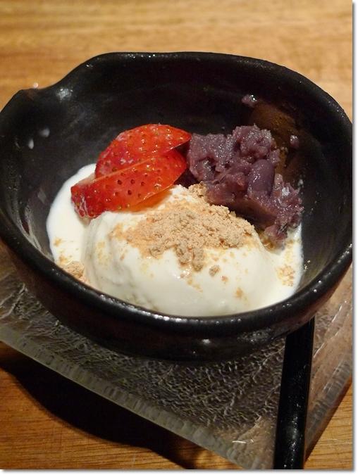 Shiratama Azuki Ice Cream