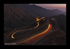 Night At Tihama (M.Moshebah) Tags: night saudi arabia abha asir