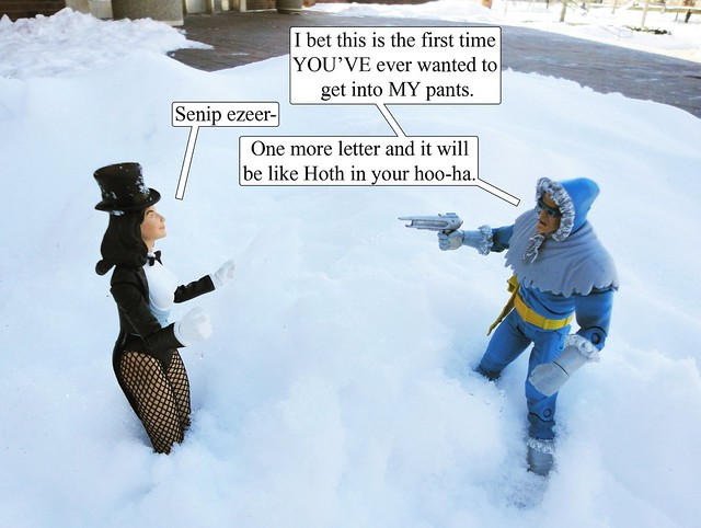 Captain Cold and Zatanna in ROLE REVERSAL