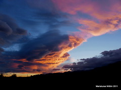 grand finale (Marlis1) Tags: sunset red sky clouds spain catalunya montes elsports weatherphotography marlis1