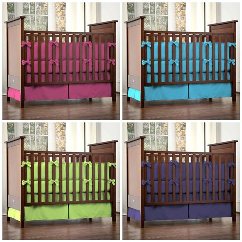 Carousel Designs - Where Solid Colored Crib Sheets in Bright Colors ...