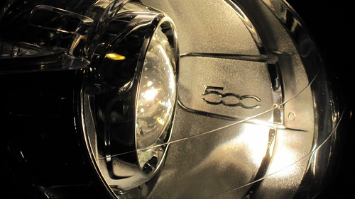 9 - 2012 FIAT 500 - headlights