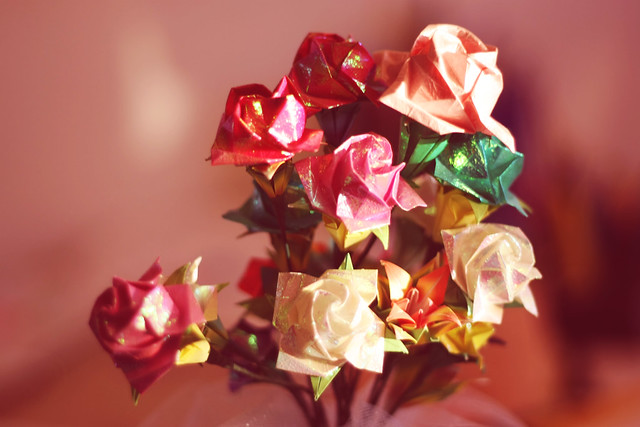 Day 172 - Origami Flowers