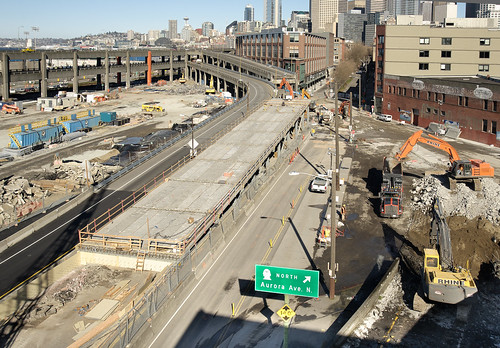 SR 99 off-ramp demolished 4
