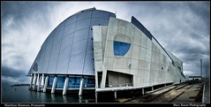 Different Perspective on the Maritime Museum (Marc Russo (Australia)) Tags: panorama museum maritime fremantle 1755 50d