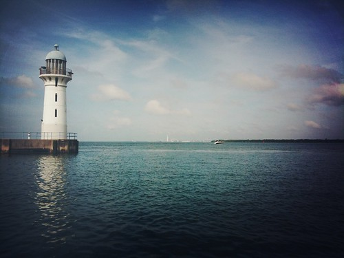 Raffles Marina Lighthouse