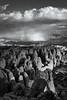 Storm Clouds Over Fiery Furnace, Utah (bretedge) Tags: blackandwhite usa southwest nature monochrome clouds landscape utah unitedstates desert scenic arches northamerica moab archesnationalpark storms nationalparks lasalmountains coloradoplateau fieryfurnace bretedge