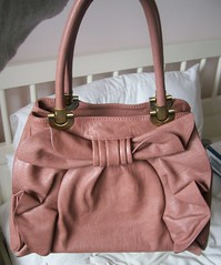 Melie Bianco Angelica Satchel in Rose