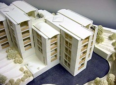 Model - Aerial View From South