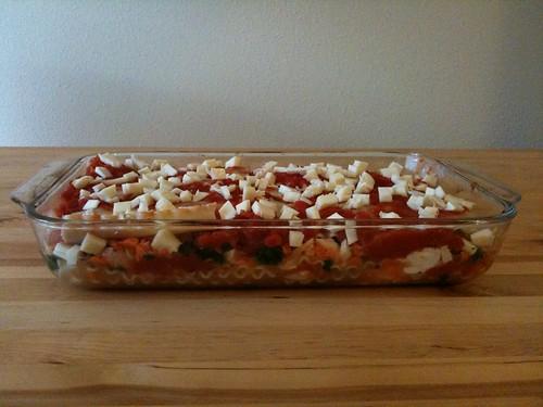 Vegetable Lasagna for Under $5!