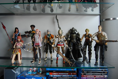 FF13 and FF12 figures