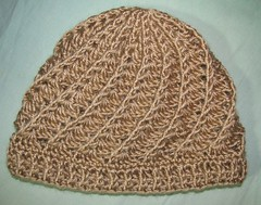 Beige hat for my grandmother