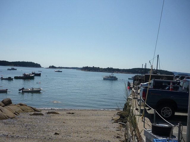 Harbor at Deer Isle, Maine