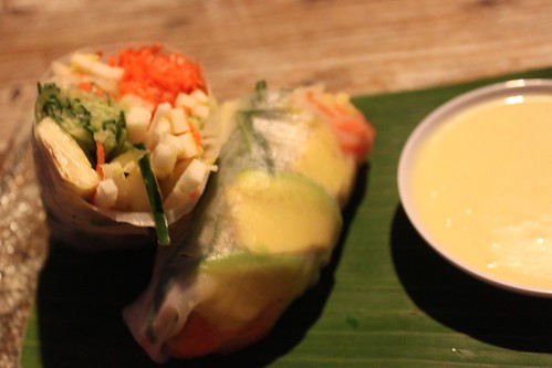 Spring Roll Raw food