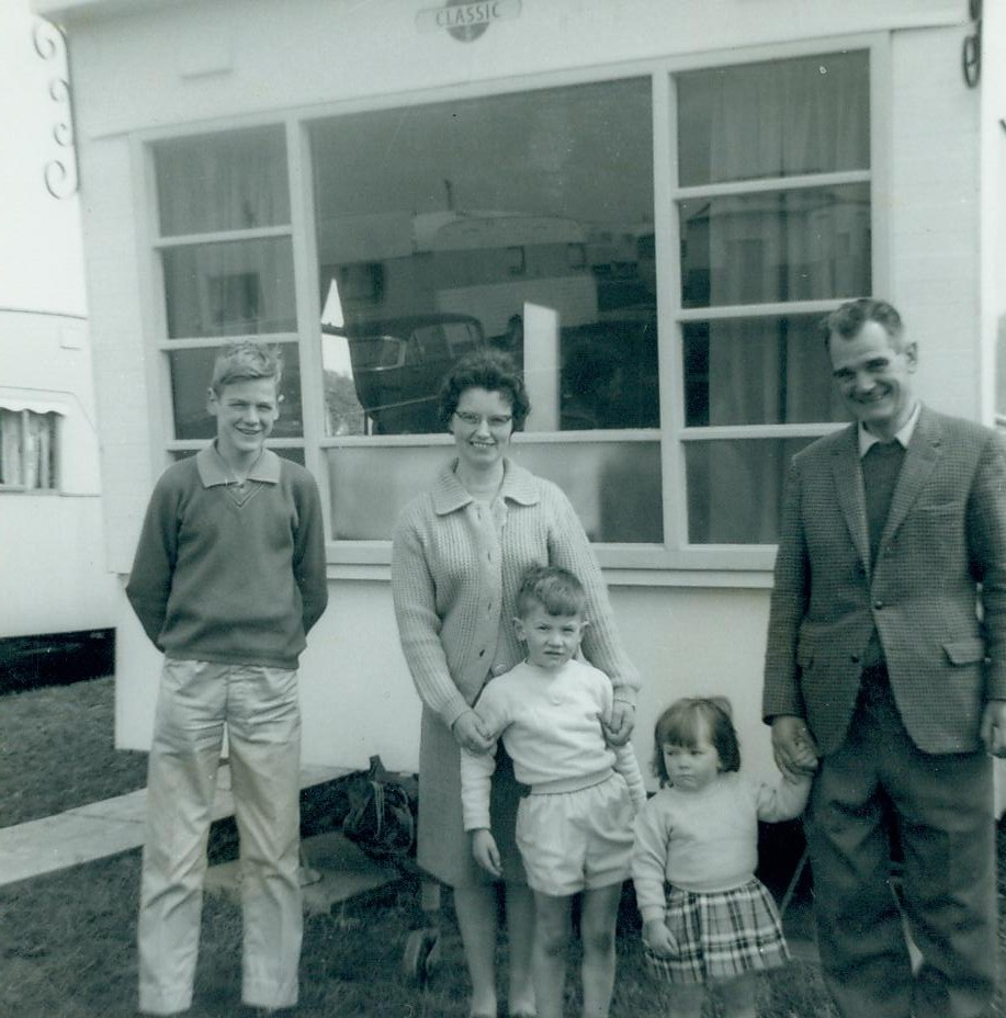 McCreath family at caravan Maidens 1963