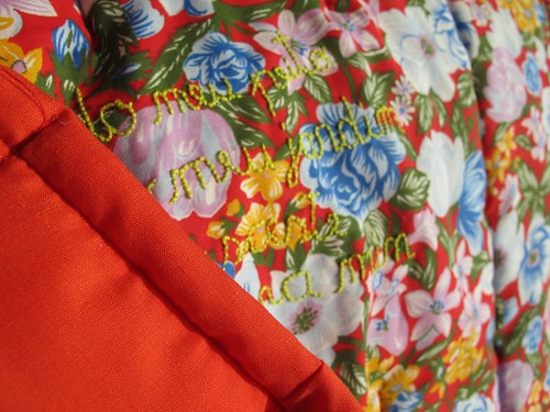 Quilted baby blanket | Manta bordada e acolchoada