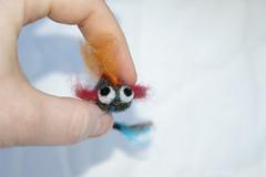 Bloop. Needle felted fish