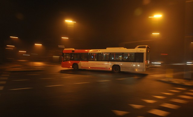 bus in action