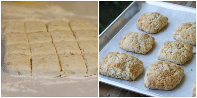 Meyer Lemon Ginger Scones collage 1