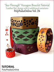 """PolyPediaOnline Vol. 24 - """"See-Through"""" Jewelry (Iris Mishly) Tags: ceramica art leather mobile cane arcoiris pen israel beads keychain hand heart handmade jewelry charm pillow polymerclay fimo mosquito clay canes faux bead handcrafted seethrough pens decor charms hanger tutorial classes polymer millefiori embelishment arcila ceramicaplastica irismishly polimerica arcillapolymerica polypediaonline"""