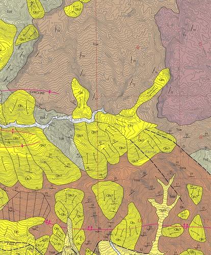 Santa Paula Peak: The Geology