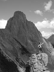 Superman (christa_renee) Tags: mountain rock superman