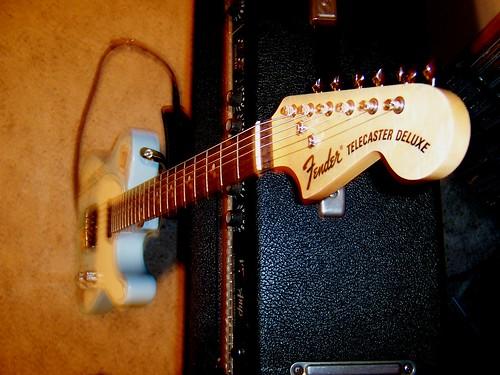 Custom Tele Guitar Headstock
