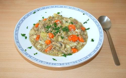 34 - Blumenkohl-Möhren-Eintopf / Coliflower Carott Stew - Fertiges-Gericht