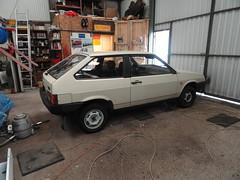 My 1987 Lada Samara 1300 / ВАЗ 2108 (Skitmeister) Tags: lada samara sputnik лада самара спутник 2108 ваз автоваз auto car pkw vintage classic oldtimer skitmeister carspot 77pst2 sidecode7 vaz