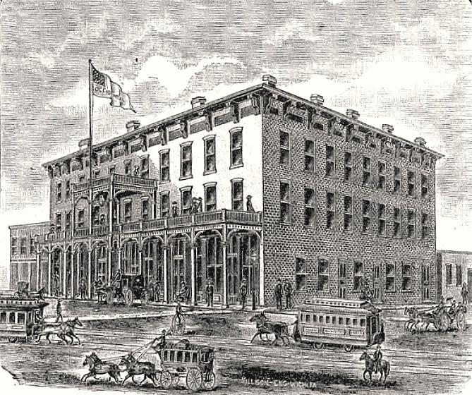 Occidental Hotel at 304 N.Main Street; Wichita, KS