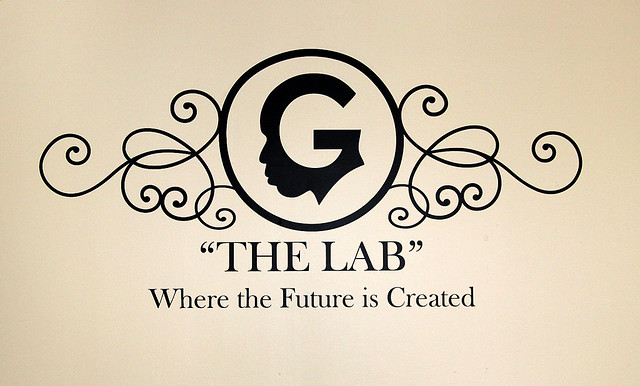 The Lab's Vinyl Wall Decal