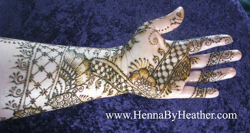 Henna inspired by Jamilah