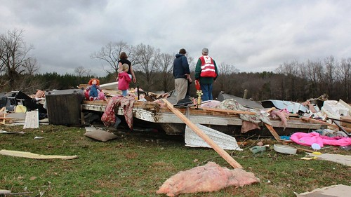 Tornado in Estill Springs, TN - Feb 2011