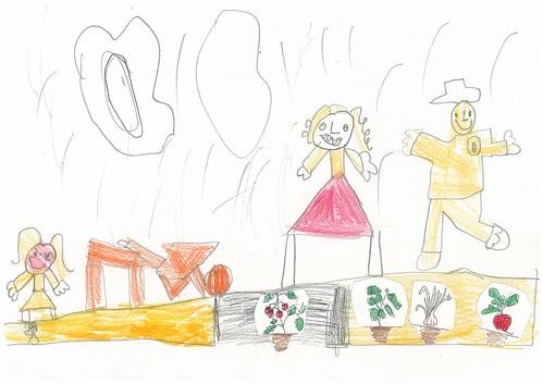 Disegna l'orto della scuola 2B 11