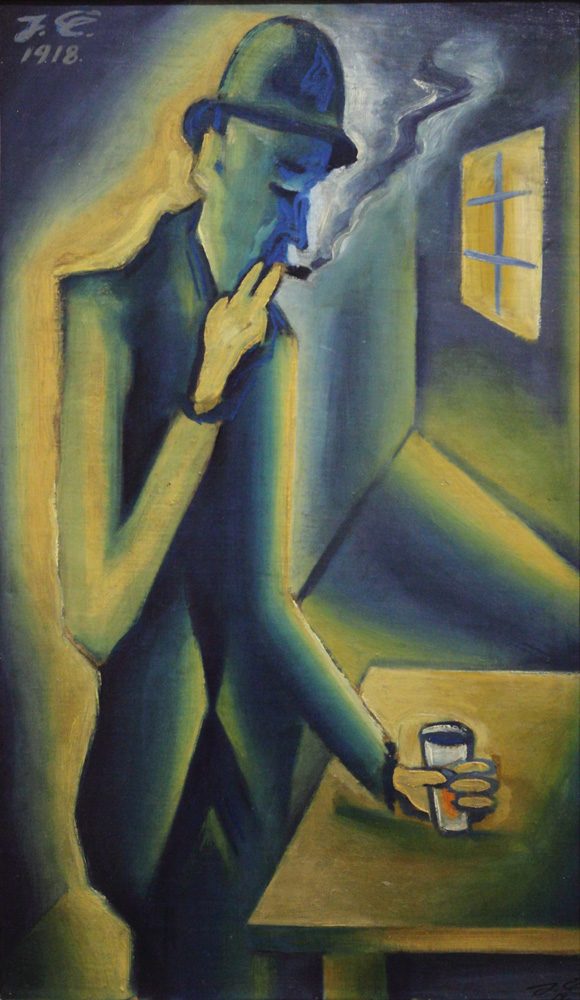 Josef Čapek, Piják [Drunkard], 1918-19
