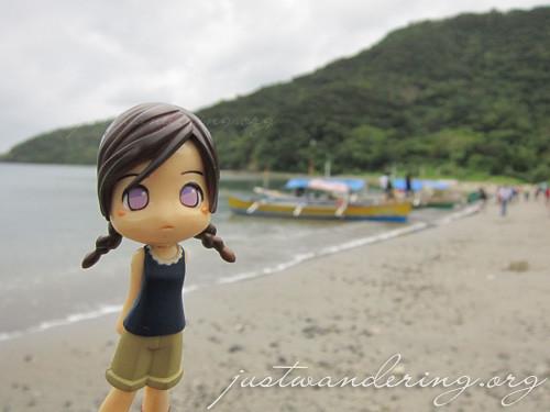 Moe at Palaui Island