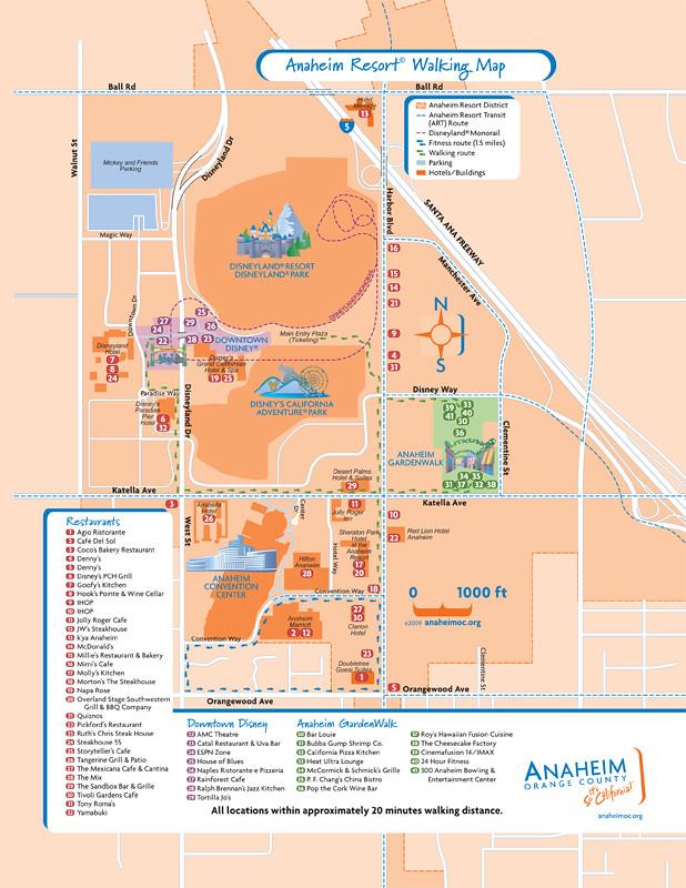 Disneyland Hotels Walking Distance To Park