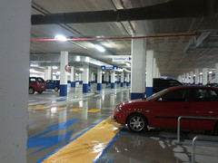 Amposta: aparcament del Carrefour