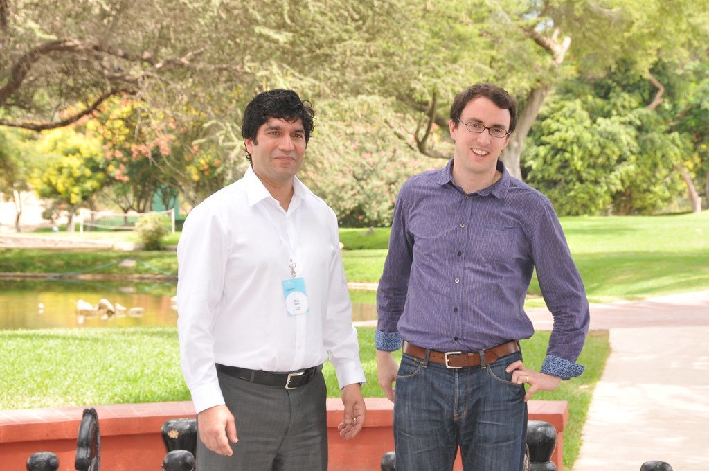 Rob Malli and James Vaccaro at the GABV annual meeting Peru, 2011