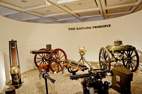 Machine gun exhibition