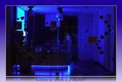 Bakery shop by night (jefpics) Tags: blue fantasy breathtaking deskart 2010 jefpics turnhout beautifulphoto nachtopname masterphotos panasonicdmcg1