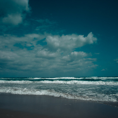 Clouds into Waves into Sand, Delray Beach, Florida