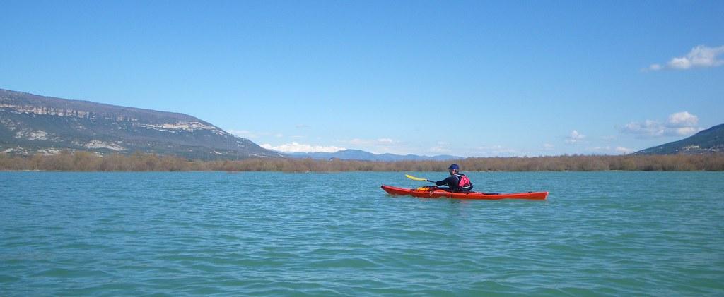 Pantano de Yesa en kayak 043