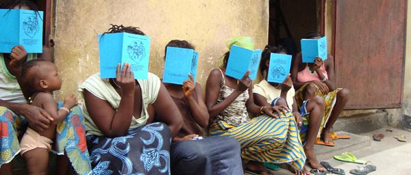 Women prisoners in Sierra Leone, courtesy AdvocAid Sierra Leone