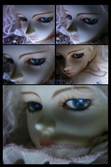 Collage (borometz) Tags: art toy doll vampire bjd   dim 13 ws balljointdoll danbi whiteskin dollinmind  virocana